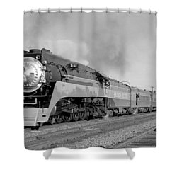 Southern Pacific Train In Texas Shower Curtain