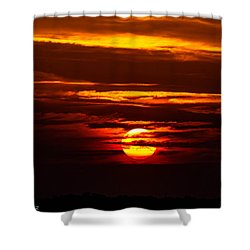 Southern Sunset Shower Curtain