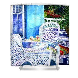 Southernmost Happy Hour Shower Curtain