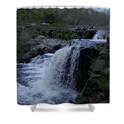 Southford Falls Shower Curtain