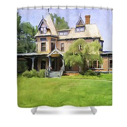 Southport Victorian Shower Curtain