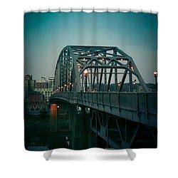 Southside Bridge  Shower Curtain