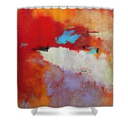 Southwest Color Burst Shower Curtain by M Diane Bonaparte