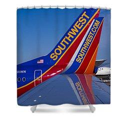 Southwest Shower Curtain by Steven Ralser