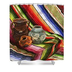 Southwest Still Life Shower Curtain