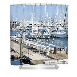 Spa At 6th Street Shower Curtain