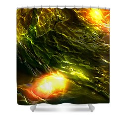 Shower Curtain featuring the photograph Space Fall by Richard Thomas