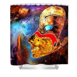 Space  Glory Shower Curtain by Hartmut Jager