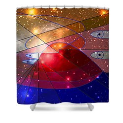 Space Odyssey 08 Shower Curtain