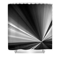 Shower Curtain featuring the photograph Space-time Continuum by Mihai Andritoiu
