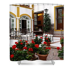 Shower Curtain featuring the photograph Spain by Haleh Mahbod