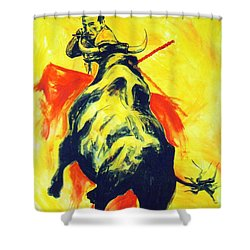 Spanish Bullfight Shower Curtain