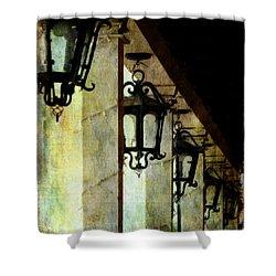 Spanish Lights Shower Curtain