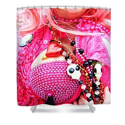 Spanish  Mardi Gras Parade Finery Louisiana Shower Curtain