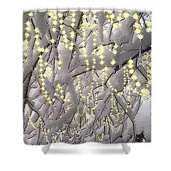 Sparkling Christmas Shower Curtain