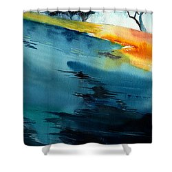 Spatial 1 Shower Curtain