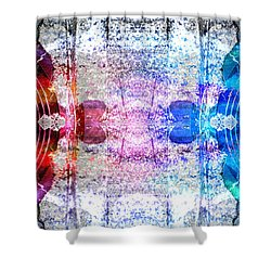 Speakers 3 Shower Curtain