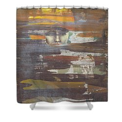 'speaking Life' Shower Curtain