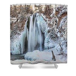Spearfish Falls Shower Curtain by Jana Thompson