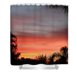 Spectacular Sky View Shower Curtain by Oksana Semenchenko