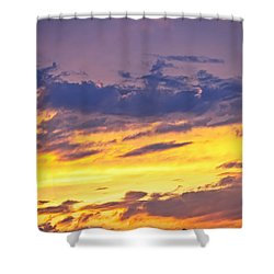 Spectacular Sunset Shower Curtain by Elena Elisseeva