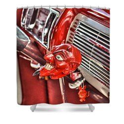 Speed Demon Shower Curtain by Timothy Lowry