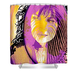 Sphere Of Influence Shower Curtain by Seth Weaver