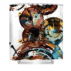 Spherical Happiness Series - 993.042212 Shower Curtain by Kris Haas