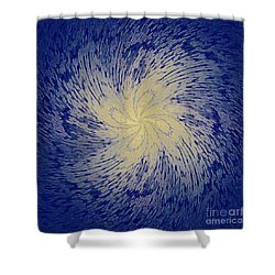 Spin Cycle-no1 Shower Curtain by Darla Wood