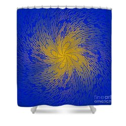 Spin Cycle-no2 Shower Curtain
