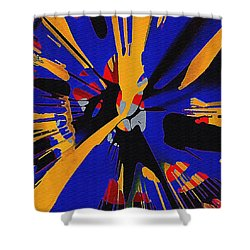 Spinart Revival II Shower Curtain