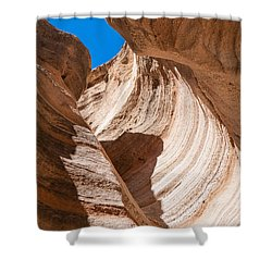 Spiral At Tent Rocks Shower Curtain