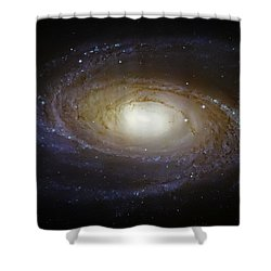 Spiral Galaxy M81 Shower Curtain