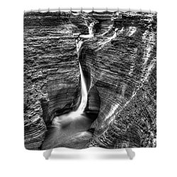 Spiral Gorge Watkins Glen Shower Curtain