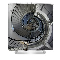 Shower Curtain featuring the photograph Spiral by Laurie Perry