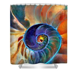 Spiral Life Shower Curtain