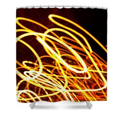 Spiral Light Among Dwellers About The City 2 Shower Curtain