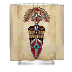 Spirit Chief Shower Curtain