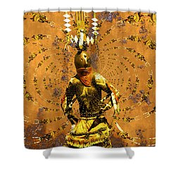 Spirit Dance Shower Curtain by Kurt Van Wagner
