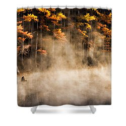 Shower Curtain featuring the photograph Spirit Dance by Lana Trussell