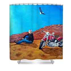 Spirit Eagle Shower Curtain