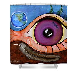 Spirit Eye Shower Curtain