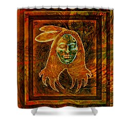 Spirit Fire II Shower Curtain