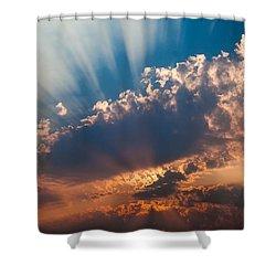 Shower Curtain featuring the photograph Spirit In The Sky by Jack Bell