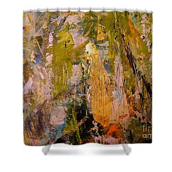 Shower Curtain featuring the painting Spirit by Nancy Kane Chapman