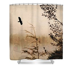 Spirit Of Alaska Shower Curtain