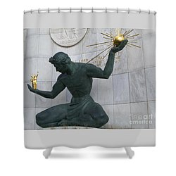 Spirit Of Detroit Shower Curtain