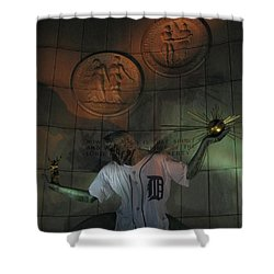 Spirit Of Detroit Tigers Shower Curtain