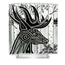 Spirit Of Gentle Strength Shower Curtain