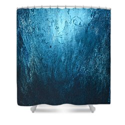 Spirit Of Life - Abstract 3 Shower Curtain by Kume Bryant